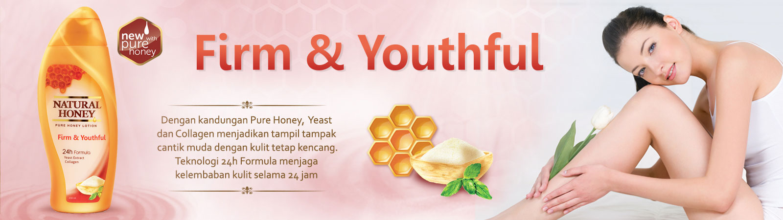 Natural Honey Firm & Youthful