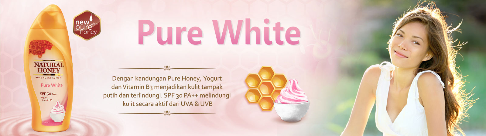 Natural Honey Pure White